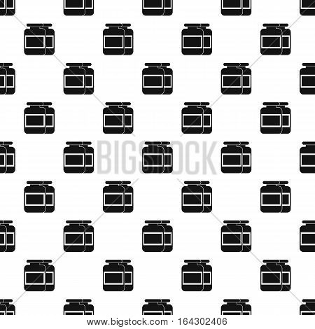 Sports supplements pattern. Simple illustration of sports supplements vector pattern for web