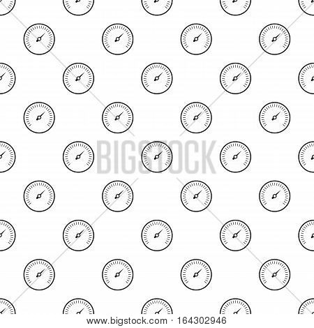 Speedometer for cars pattern. Simple illustration of speedometer for cars vector pattern for web