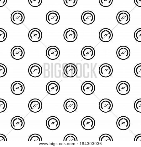 Speedometer with stripes pattern. Simple illustration of speedometer with stripes vector pattern for web