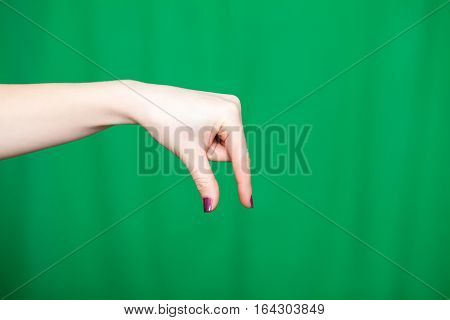 Hand Female Fingers Takes