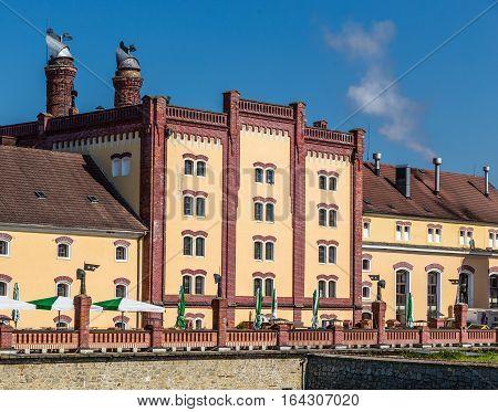 Bohemia Regent Brewery - Trebon Czech Republic Europe poster