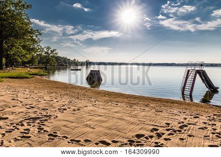Beach Ostende - Svet Lake Trebon Czech Republic Europe
