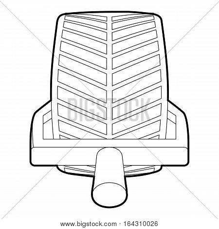 Car wheel clamp icon. Isometric 3d illustration of car wheel clamp vector icon for web