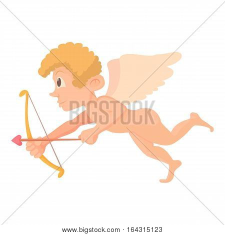 Cupid icon. Cartoon illustration of Cupid vector icon for web