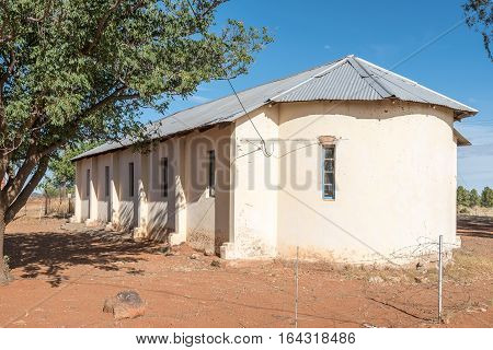 Historic old church in Bolokanang in Petrusburg in the Free State Province of South Africa