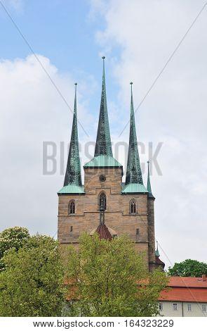 Church Of Saint Severus In Erfurt