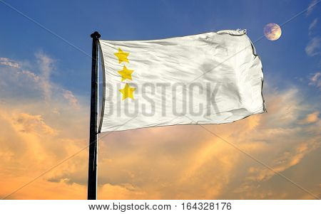 Ak Hun Empire Flag, Ak Hun Empire, Flag Design and Presentation