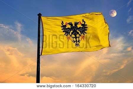Romain Germanic Empire Flag, Romain Germanic Empire , Flag Design and Presentation