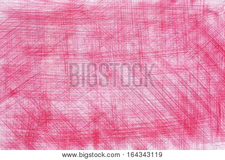 Abstract art brushed pink pattern watercolor brush strokes lines stripes. Background texture wallpaper