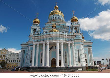 Russia. Mordovia. Saransk. Cathedral of St Fedor Ushakov