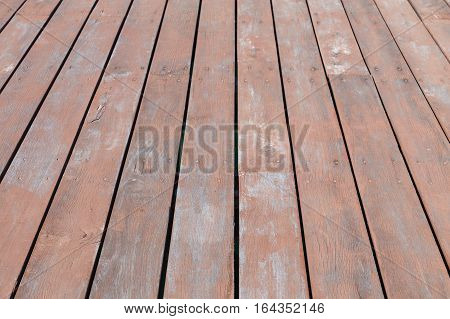 Wooden floor background lumber pattern perspective view