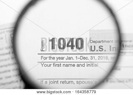Tax Returns Through A Magnifying Glass