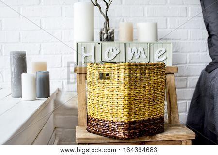 ideas for home decor home house basket
