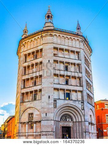 Hdr Battistero Di Parma