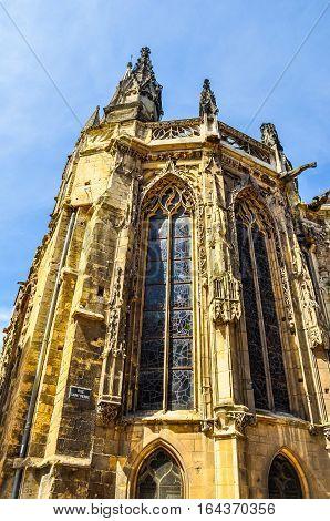 Hdr Saint Pierre Abbey Caen