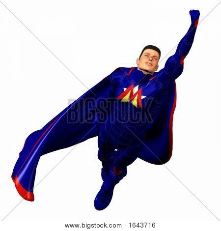 Blue Super Hero #3