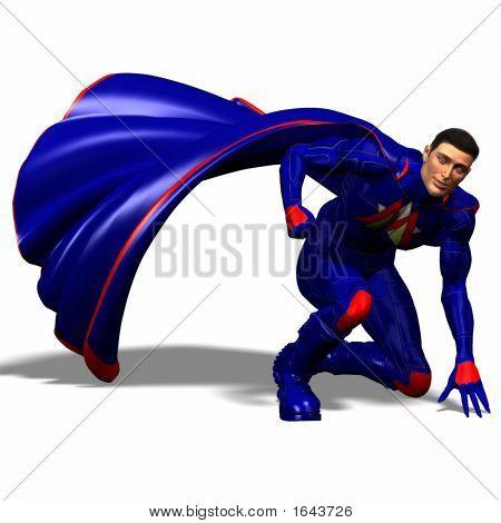 Blue Super Hero #5