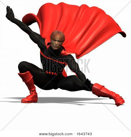 Red Super Hero #5