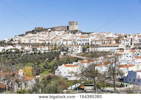 a view of Castelo de Vide town, Portalegre District, Alto Alentejo, Portugal