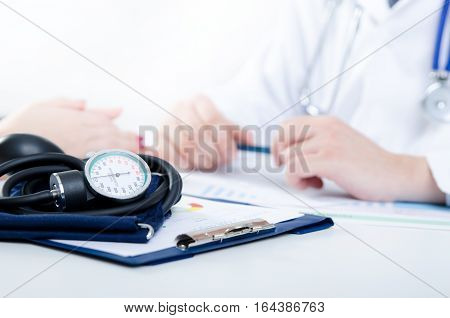 Doctor And Patient Medical Consultation