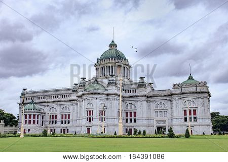 Anantasamakhom Throne Hall most famous european history building in bangkok thailand