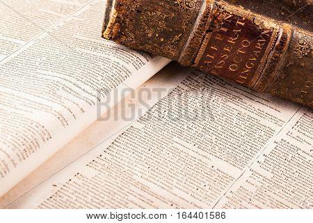Ancient Latin Dictionary