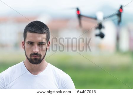 Man Manages Quadrocopters