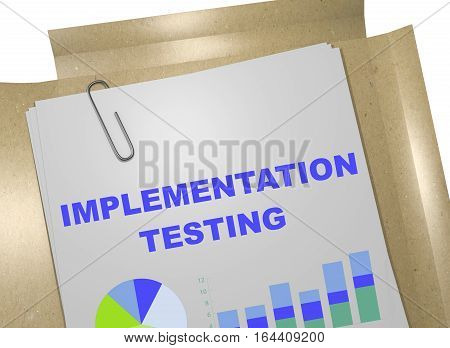 Implementation Testing - Business Concept
