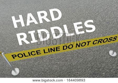 Hard Riddles Concept