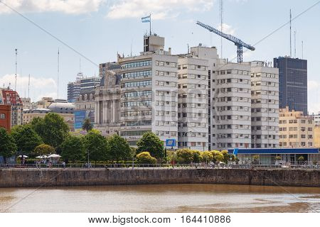 buenos aires, argentina - November, 25th, 2014 - puerto madero district argentina south america
