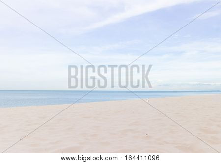 The beach sea,Samila beach in Songkhla, Thailand