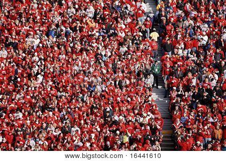 University of Wisconsin Badger Football Fans