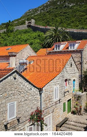 Ston Town And Its Defensive Wall, Peljesac Peninsula, Croatia