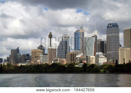 Sydney central business district (CBD), New South Wales, Australia