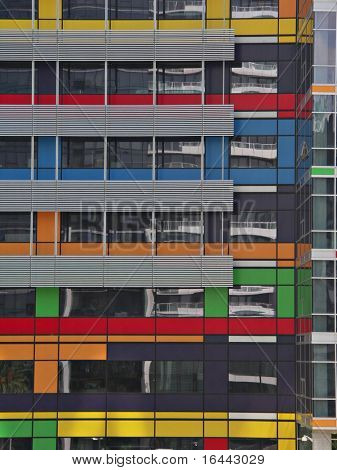 Colorful Office Building