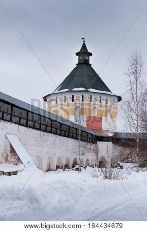 Spaso-priluckiy Monastery In Winter. Vologda.