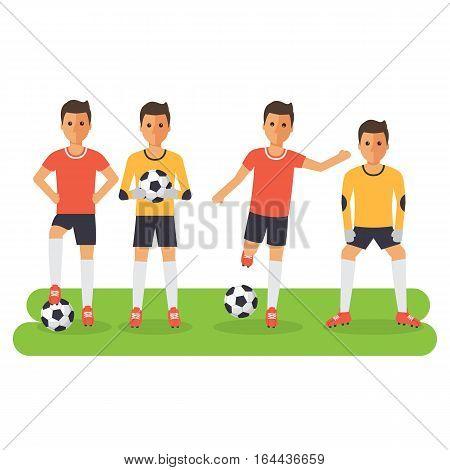 Soccer Sport Athletes