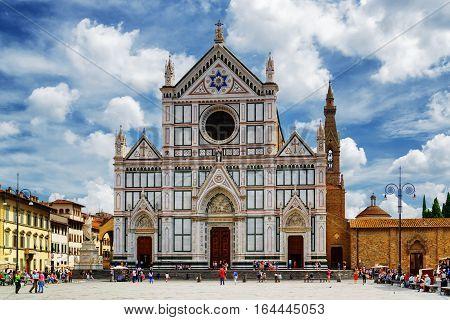 The Basilica Di Santa Croce, Florence, Italy