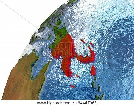 Papua New Guinea On Earth