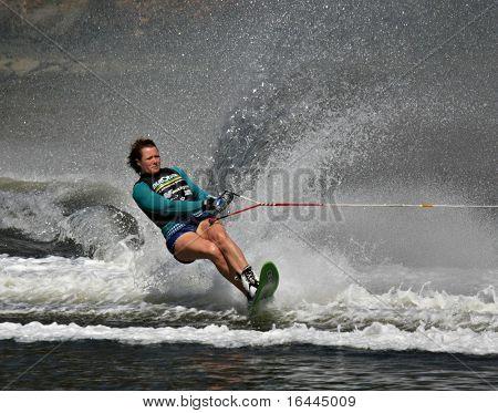 Waterskier - Melbourne waterfest