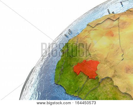 Burkina Faso On Earth