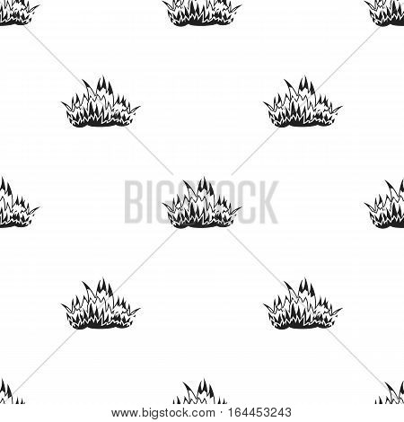 Fire icon black style. Single silhouette fire equipment icon from the big fire Department black - stock vector