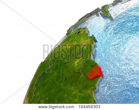 French Guiana On Earth