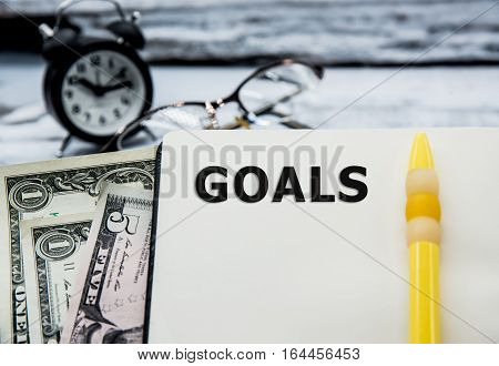 Business concept and idea Goals and Success