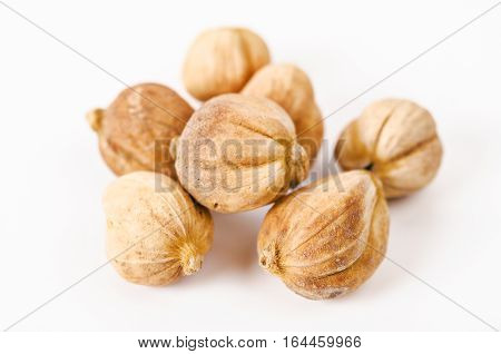 The Siam Cardamom isolated on white background.