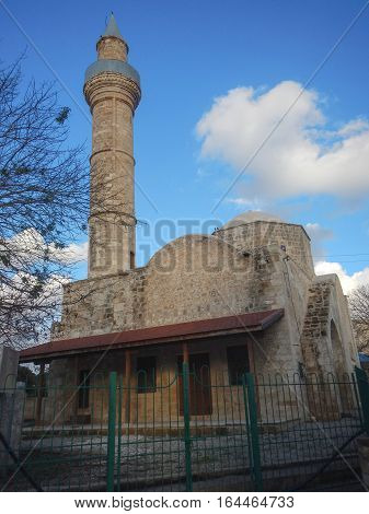 Mosque In The Historical Center Od Pafos