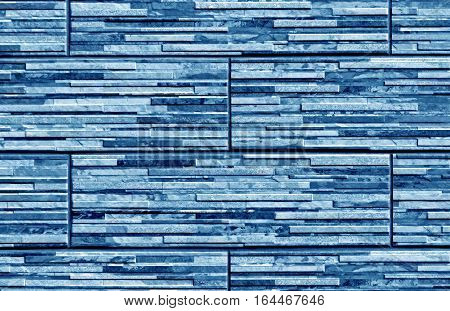 Stylized Blue Brick Wall Texture.