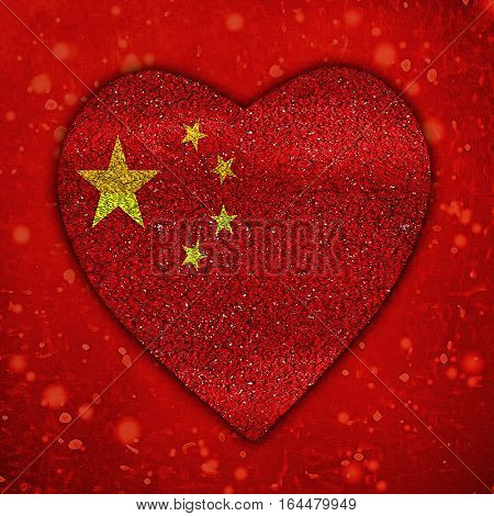 Chinese Motif Poster