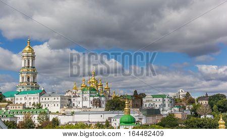 Panorama Of The Kiev Pechersk Lavra Monastery