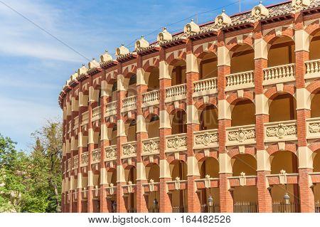 Bullring In The Historical Center Of Zaragoza